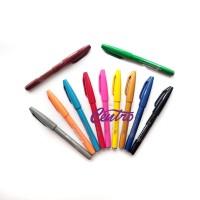 Pentel Touch Brush Sign Pen Colouring Kuas Spidol Lettering Doodle