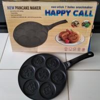 Cetakan Kue Cookiess, Pancake 7 Holes Motif Binatang