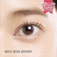Softlens Kitty Kawaii Mini Bom Brown (Coklat) - Natural Effect