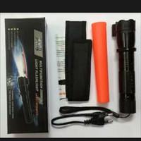 Senter SWAT Kejut Listrik + Laser