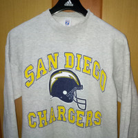 Jacket sweater AHL 7logo san diego chargers american hockey league AHL
