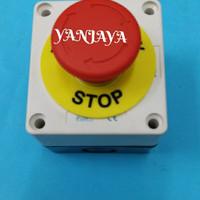 Emergency push button + box/emergency stop push button