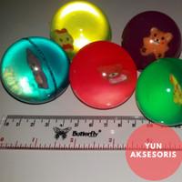Bola bekel besar mainan edukasi tradisional jadul klasik 90an