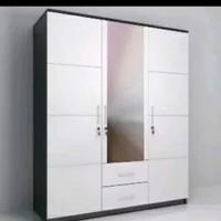 lemari pakaian 3pintu cermin