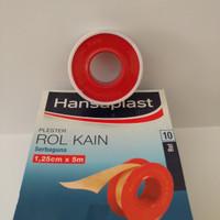 HANSAPLAST PLESTER ROL KAIN 1.25cm X 5m