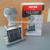 STEMPEL TANGGAL CAP LUNAS / DATE STAMP / JOYKO S-68