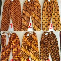 Kostum Adat Celana Panjang Batik Pitung Boim Baju Betawi Anak