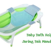 BK026 Jaring Bak Mandi Bayi Baby Bath Helper Bath Tub Seat Net Shower