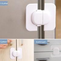 BK066 Kunci Pengaman Pintu Lemari Es Kulkas Laci Anak Baby Safety Lock