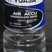 Air accu biru | air aki yuasa