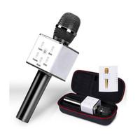 Q7 Mic Bluetooth Wireless KTV Portable Microphone Karaoke Player Q9