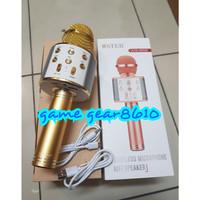 MIC WS858 WS-858 Portable Bluetooth Wireless Microphone Speaker Karaok