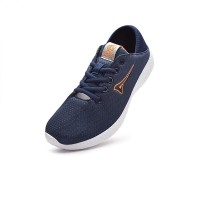 Ardiles Man Volga Running Shoes- Biru Navy Orange