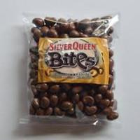 Silverqueen Bites Almond cashew 500gram / Kiloan