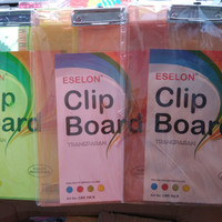 Papan jalan transparan / clipboard papan ujian