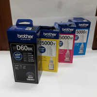 Tinta Brother BTD60 BT5000 paketan Original