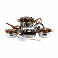 Oxone - OX-933 Cookware Set 12 + 2 Pcs