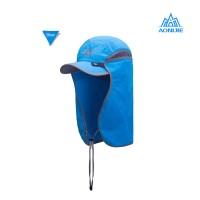 Aonijie E4089 Outdoor UV Proof Hat - Topi Fotografi Lari Pancing BLUE