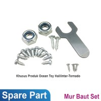 Ocean Toy Spare Part Mur Baut Set Motor Aki Halilintar/Tornado