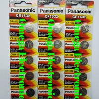 Baterai Lithium CR1632 Panasonic 3V CR 1632 Batre Battery Kancing