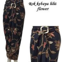 Rok Lilit Serut Batik, Model Rok Kebaya Flower