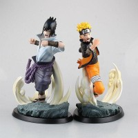 Tsume Art HQS Naruto and Sasuke Statue 1/6 Scale (1 Set)