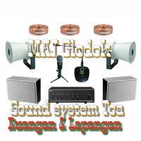 Sound system Toa 2 outdoor 2 indoor