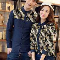cp navy origami / Couple batik