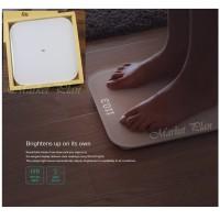 XIAOMI TIMBANGAN BADAN DIGITAL BLUETOOTH 4.0 LED DISPLAY - ORIGINAL - Putih