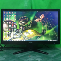 LED Monitor Komputer Acer 20inch wide G206HQL