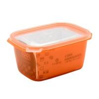 Claris Tempat makan 2738 ORANGE BPA FREE