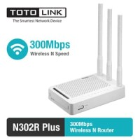 Totolink 300Mbps Wireless N Router N302R Plus