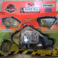 Matchbox Rage Rig set - the lost world - jurrasic park