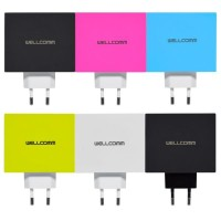 Wellcomm 4 Port USB Charger 4,2A