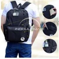 Tas Ransel Ultimate Polo Tas Laptop Backpack Waterproof JS-0850