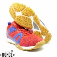 Sepatu Badminton Bulutangkis Lining Omega Red