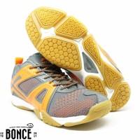 Sepatu Badminton Bulutangkis Lining Omega Grey