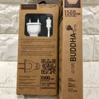 Buddha Kabel Charger Android dan Adaptor Build In