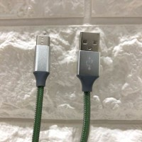 CABLE KABEL USB TYPE-C TO USB 3.0 with Braided Nylon