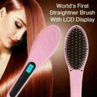 Sisir Catok Pelurus Rambut/ Fast Hair Straightener HQT-906