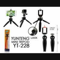 TRIPOD YUNTENG YT228 BLACK