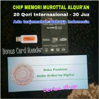 chip memori alquran audio murottal mp3 8Gb class 10