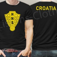 Kaos kroasia croatia jersey logo hitam baju fans bola piala dunia