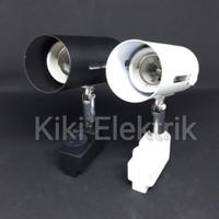 Kap Lampu Sorot / Kap Spot Light ( Tipe REL / Track & Fitting E27 )