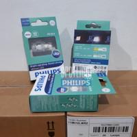 Philips T16 W16W Ultinon LED Lampu Mundur