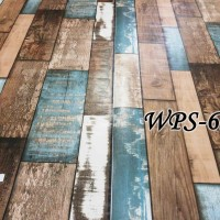 WPS626 WOOD BOARD PAPAN KAYU WALLPAPER STICKER WAL PAPER DINDING
