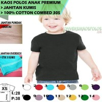 BAJU OBLONG BAYI 100% COTTON COMBED 30S PREMIUM