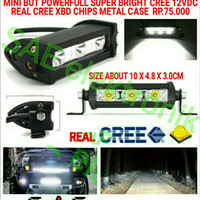 SV510B 15W 3CREE XBD CHIPS LED BAR LED WORK LAMPU TEMBAK LED VARIASI