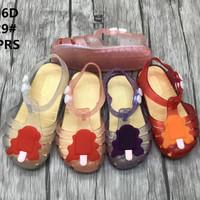Sepatu Jelly Shoes Import Premium Ice Cream - Sepatu bayi anak karet