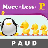 More Less Buku Aktivitas Anak PAUD Berhitung Mengenal Angka Jumlah